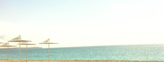 Porto Bello Hotel Beach is one of Antalya 6.