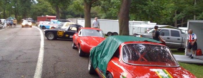 #PVGP Paddock is one of PVGP Schenley Park Racing Circuit.