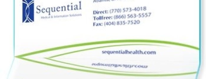 Sequential Management Group, Inc. is one of my places...