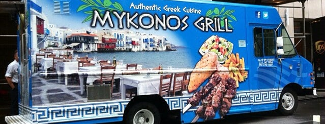 Mykono's Grill is one of The 11 Best Greek Restaurants in Midtown East, New York.