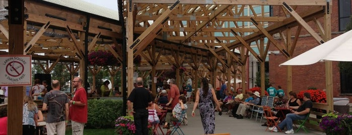 Larkin Square is one of The 15 Best Places That Are Good for Dates in Buffalo.