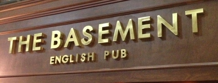 The Basement English Pub is one of Viagens.