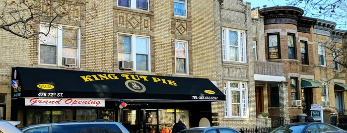 King Tut Pie is one of NY Old Favorites.