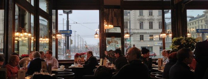 Cafe Schwarzenberg is one of Vienna.
