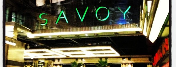 The Savoy Hotel is one of Hotels Round The World.