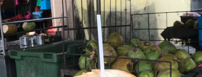 Anba Coconut Trading is one of Penang famous food info.