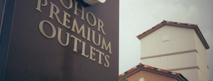 Johor Premium Outlets is one of jalan-jalan best.