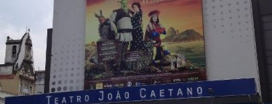 Teatro João Caetano is one of Favorite affordable date spots.