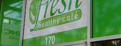 Fresh Healthy Cafe is one of Creative Innovations Cause Related Advertising.
