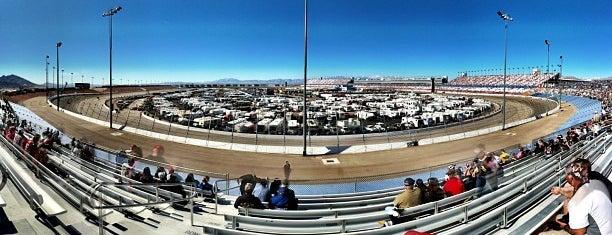 Las Vegas Motor Speedway is one of Best Nascar Race Car Tracks.
