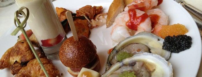 Lacroix Restaurant at The Rittenhouse is one of Romantic Philadelphia.