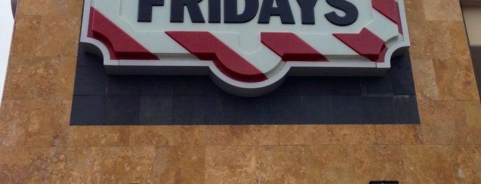 TGI Fridays is one of 20 favorite restaurants.