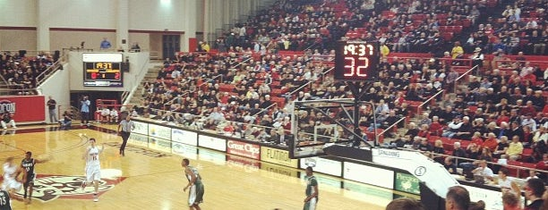 John M. Belk Arena is one of Sports Venues I've Worked At.