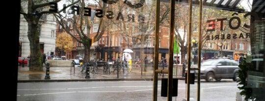 Côte Brasserie is one of London 🇬🇧.