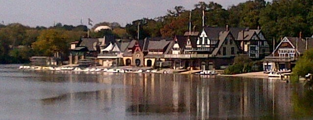 Boathouse Row is one of Alyssa's Philly Life.