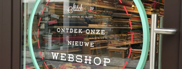 Stitch & co is one of Antwerp.