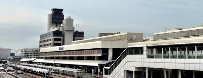 Osaka International Airport (ITM) is one of Fly.