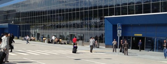Vladivostok International Airport (VVO) is one of Free WiFi Airports 2.