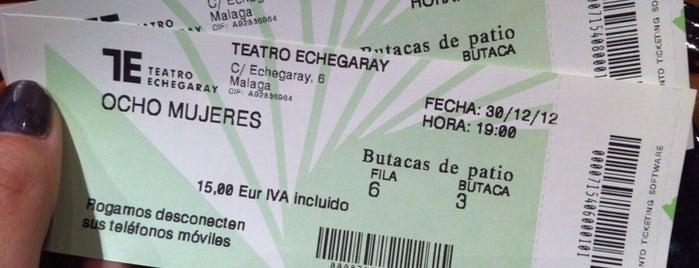 Teatro Echegaray is one of Málaga.