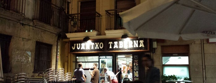 Taberna Juantxo is one of san sebastian.