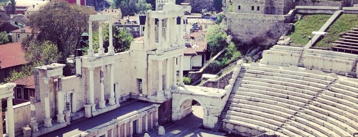 The ancient theatre of Philippopolis is one of SOF+.
