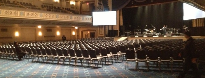Grand Ballroom at the Manhattan Center is one of New York City.