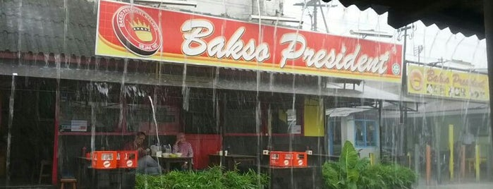 Bakso President is one of must to visit in malang city.