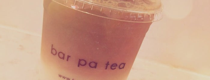 Bar Pa Tea is one of faves.