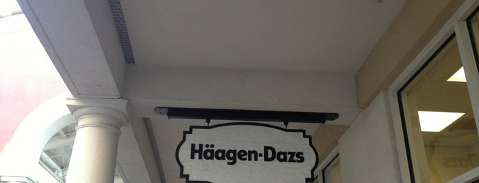 Häagen Dazs is one of The 15 Best Ice Cream Shops in Orlando.