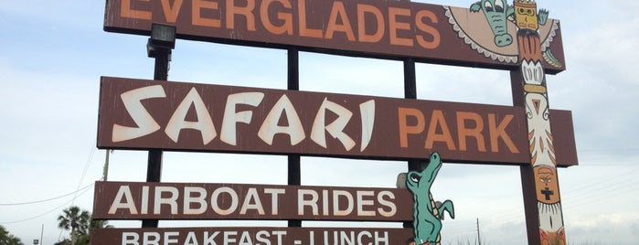 Everglades Safari Park is one of My Sunshine State <3.