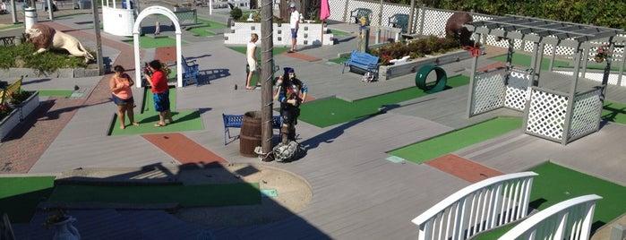 Montauk Mini Golf is one of Summer Vaka 2014.