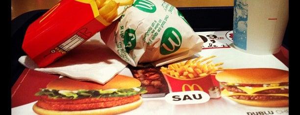 McDonald's is one of Bucharest <3.