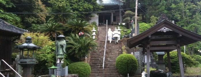 母養山 宝樹院 恩山寺 (第18番札所) is one of 四国八十八ヶ所霊場 88 temples in Shikoku.