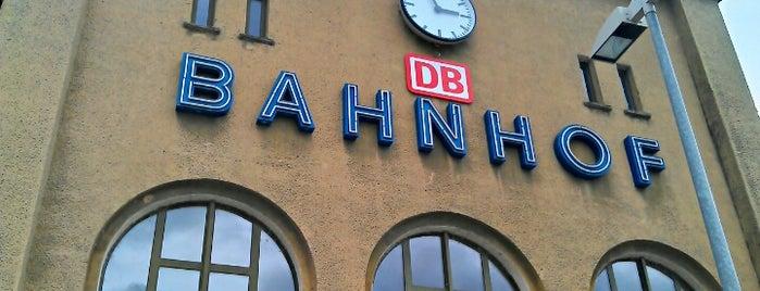Bahnhof Pasewalk is one of DB ICE-Bahnhöfe.
