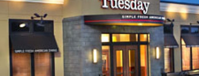 Ruby Tuesday is one of Top 10 dinner spots in Worcester, MA.