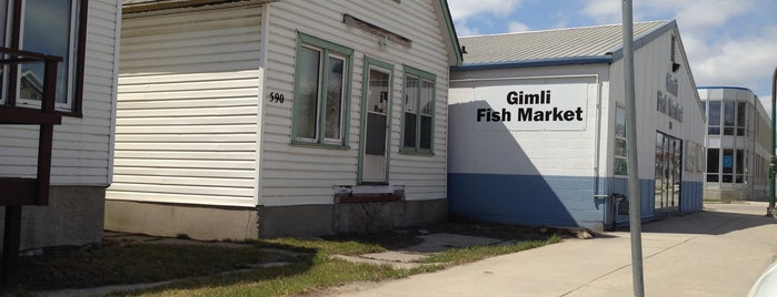 Gimli Fish Market is one of ND/Winnipegg.