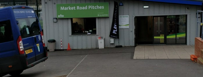 Market Road Soccer Arena is one of Football grounds in and around London.