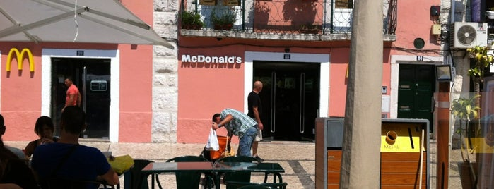 McDonald's is one of Restaurantes Lisboa e Arredores.