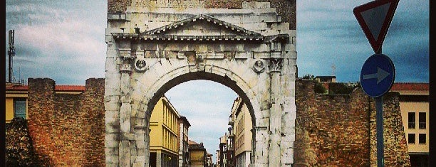 Arco d'Augusto is one of Bologna Rimini To-Do.