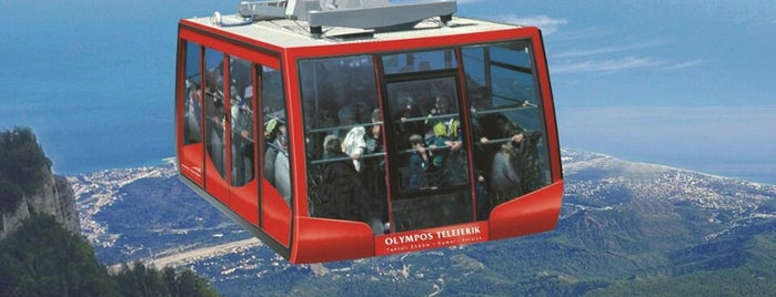 Olympos Teleferik (2365 m) is one of Antalya.