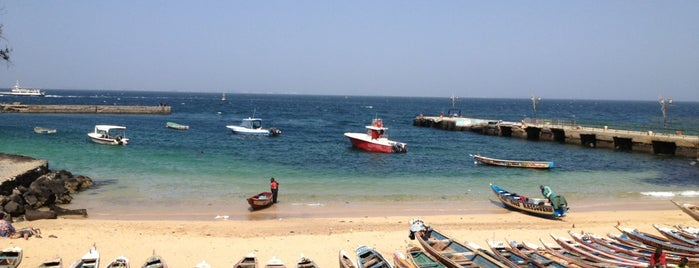 Island of Gorée is one of UNESCO World Heritage Sites.