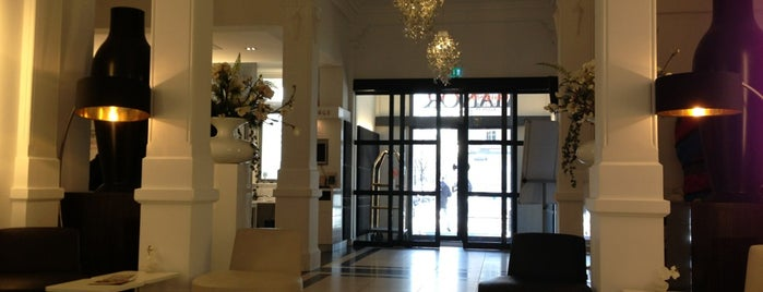 Hampshire Hotel - The Manor Amsterdam is one of InClusion LGBTQ cafe in Amsterdam Oost.