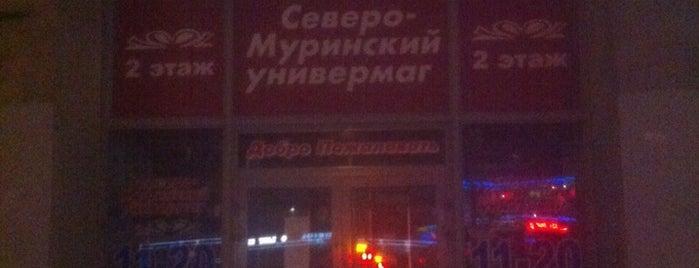 Универмаг «Северомуринский» is one of Торговые центры в Санкт-Петербурге.