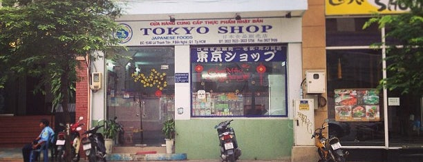 Tokyo Shop is one of Japanese flair in Saigon.