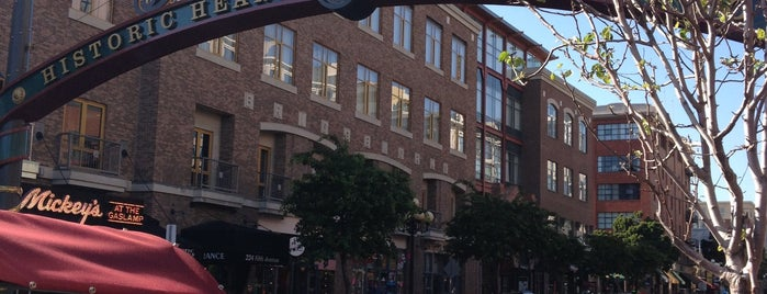 The Gaslamp Quarter is one of USA Trip 2013 - The West.