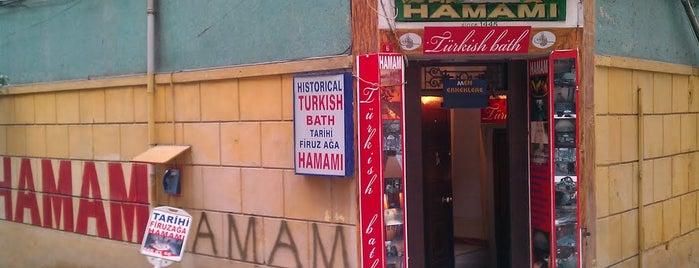 Firuz Ağa Hamamı is one of 10 best hamams in Istanbul.
