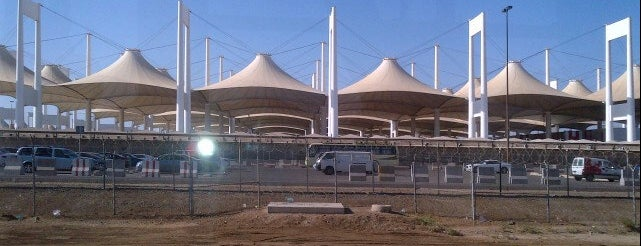 Hajj Terminal is one of Must visit Place and Food in Saudi Arabia.