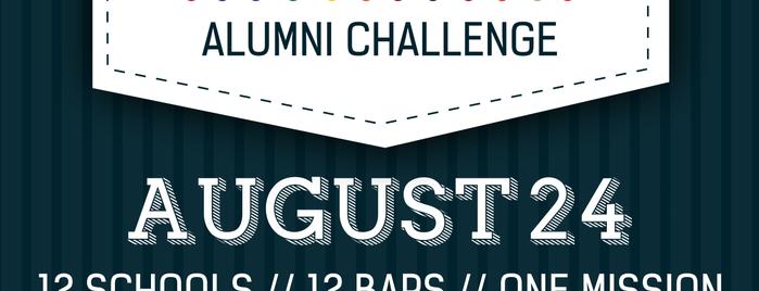 Aloft Chicago City Center is one of 2014 Alumni Challenge Bars.