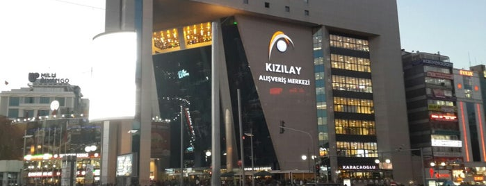 Kızılay AVM is one of Ankara AVM'leri.