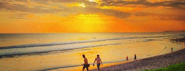 Pantai Batu Belig is one of Beautiful Beaches in Bali.
